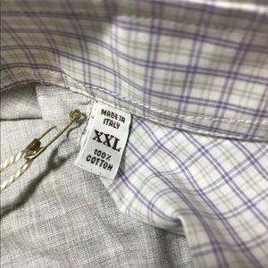 Brunello Cucinelli Shirts - BRUNELLO CUCINELLI Mens Button Shirt